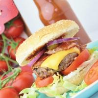 Amerikaanse Hamburger met JOYN Tomaten & Homemade Tomatenketchup