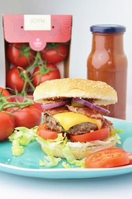 Amerikaanse Hamburger met Homemade Tomatenketchup!