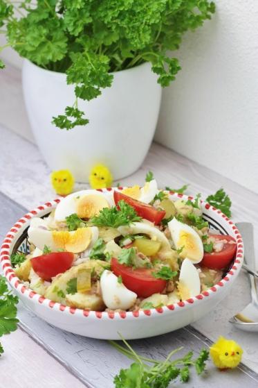 Aardappelsalade met Tonijn & Ei