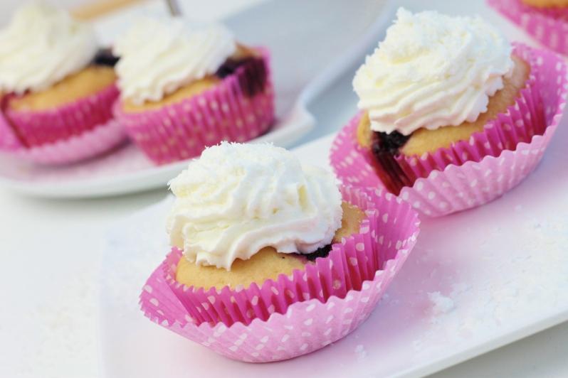 Zomerfruit Kokos Muffins